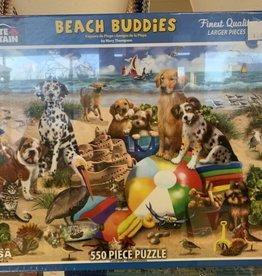 WHITE MOUNTAIN PUZZLES, INC. 550 pc Beach Buddies Puzzle