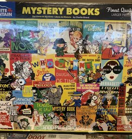 WHITE MOUNTAIN PUZZLES, INC. 1000 pc Mystery Books Puzzle