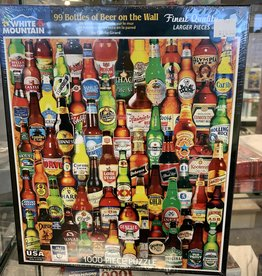WHITE MOUNTAIN PUZZLES, INC. 1000 pc 99 Bottles of Beer on the Wall