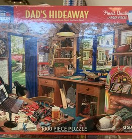 WHITE MOUNTAIN PUZZLES, INC. 1000 pc Dad's Hideaway Puzzle