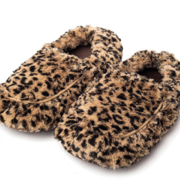 INTELEX Tawny Print Warmies Slippers
