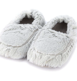 INTELEX Marshmallow Grey Warmies Slippers