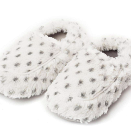 INTELEX Snowy Print Warmies Slippers