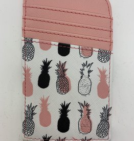 D.M. MERCHANDISING INC. RFID Scan-Safe Credit Card Holder-Pineapple