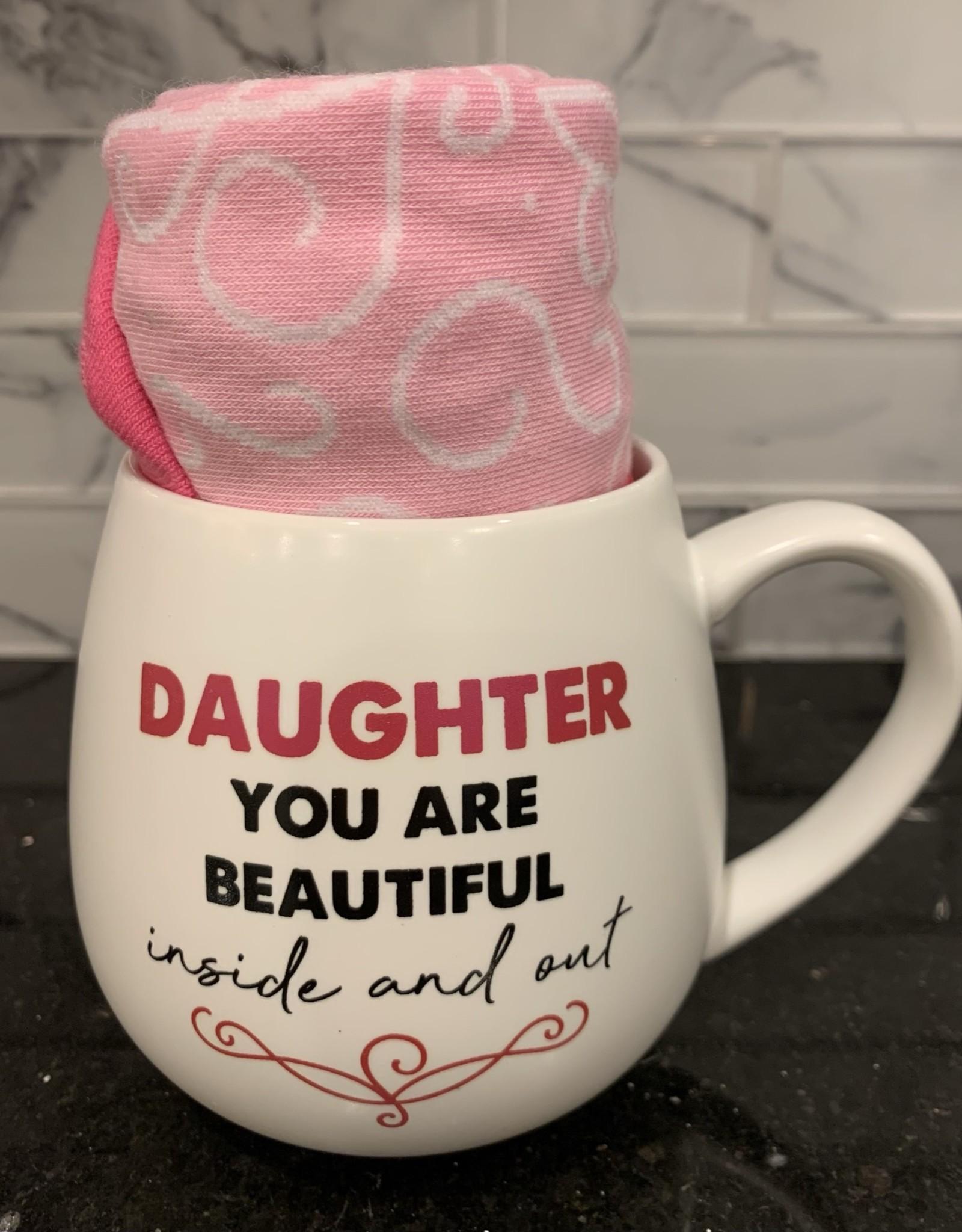 PAVILION Mug & Sock Set-Daughter