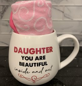 PAVILION Mug & Sock Set-Daughter