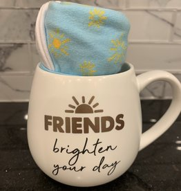 PAVILION Mug and Sock Set-Friends