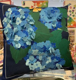 EVERGREEN ENTERPRISES, INC. Pillow with Interchangeable Cover-Hydrangeas