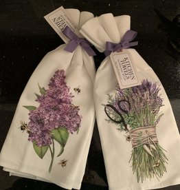 MARY LAKE THOMPSON Mary Lake Thompson Floursac Towel-Set of 2-Lavender Shears