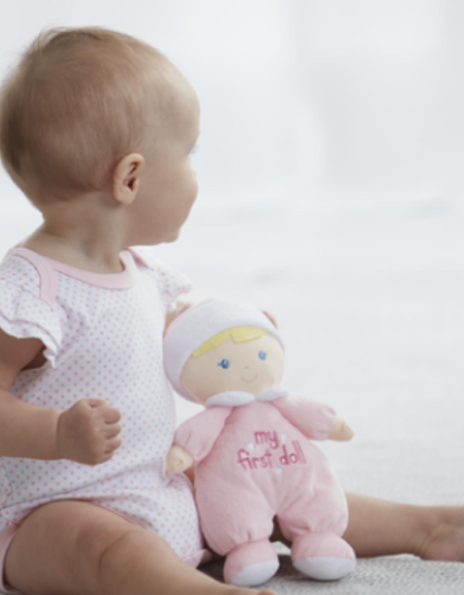 GANZ My First Pink Plush Baby Doll