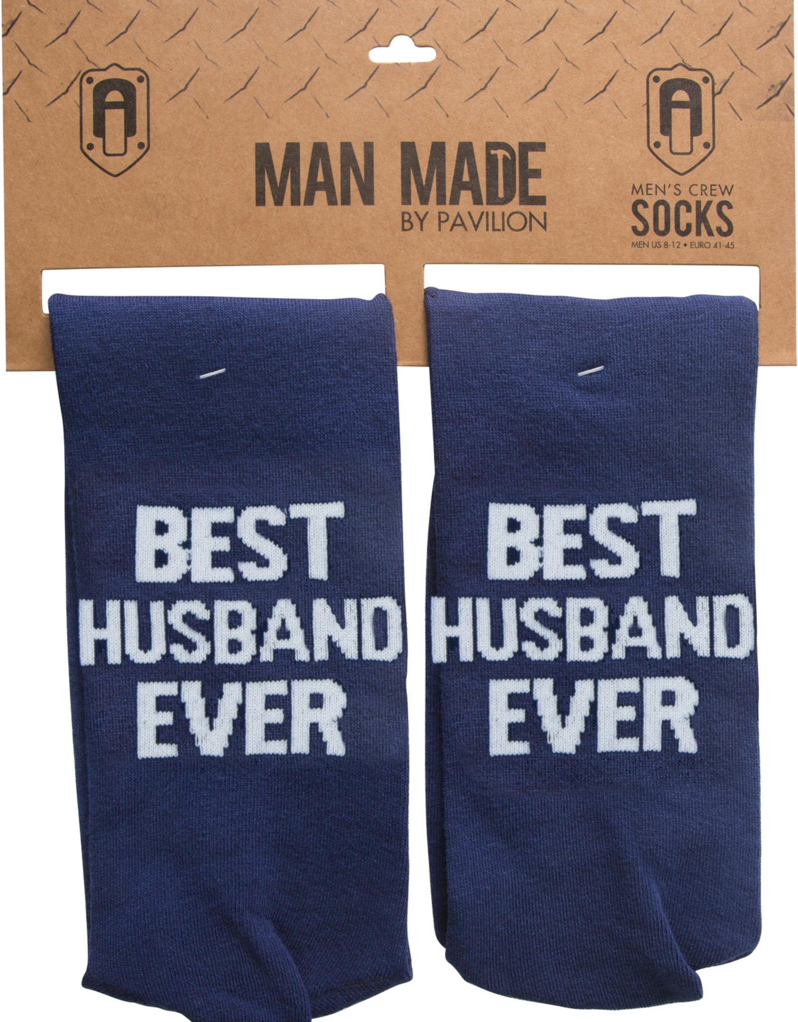 PAVILION BEST HUSBAND EVER SOCKS