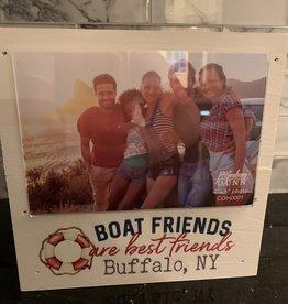 P graham dunn Boat Friends Are Best Friends -Buffalo, NY Frame