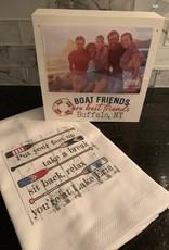Boat Friends Are Best Friends -Buffalo, NY Frame