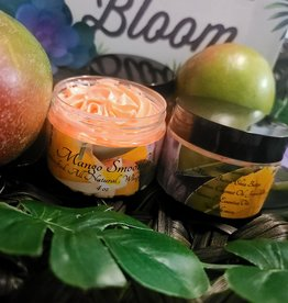 KISS AND MAKEUP NATURAL COSMETICS Whipped Body Butter-4oz Mango Smoothie