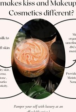 KISS AND MAKEUP NATURAL COSMETICS Whipped Body Butter-4oz Java