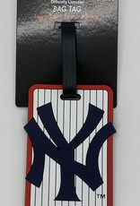 GOOD TYMES ENTERPRISES OFFICIALLY LICENSED NY YANKEES LUGGAGE TAG