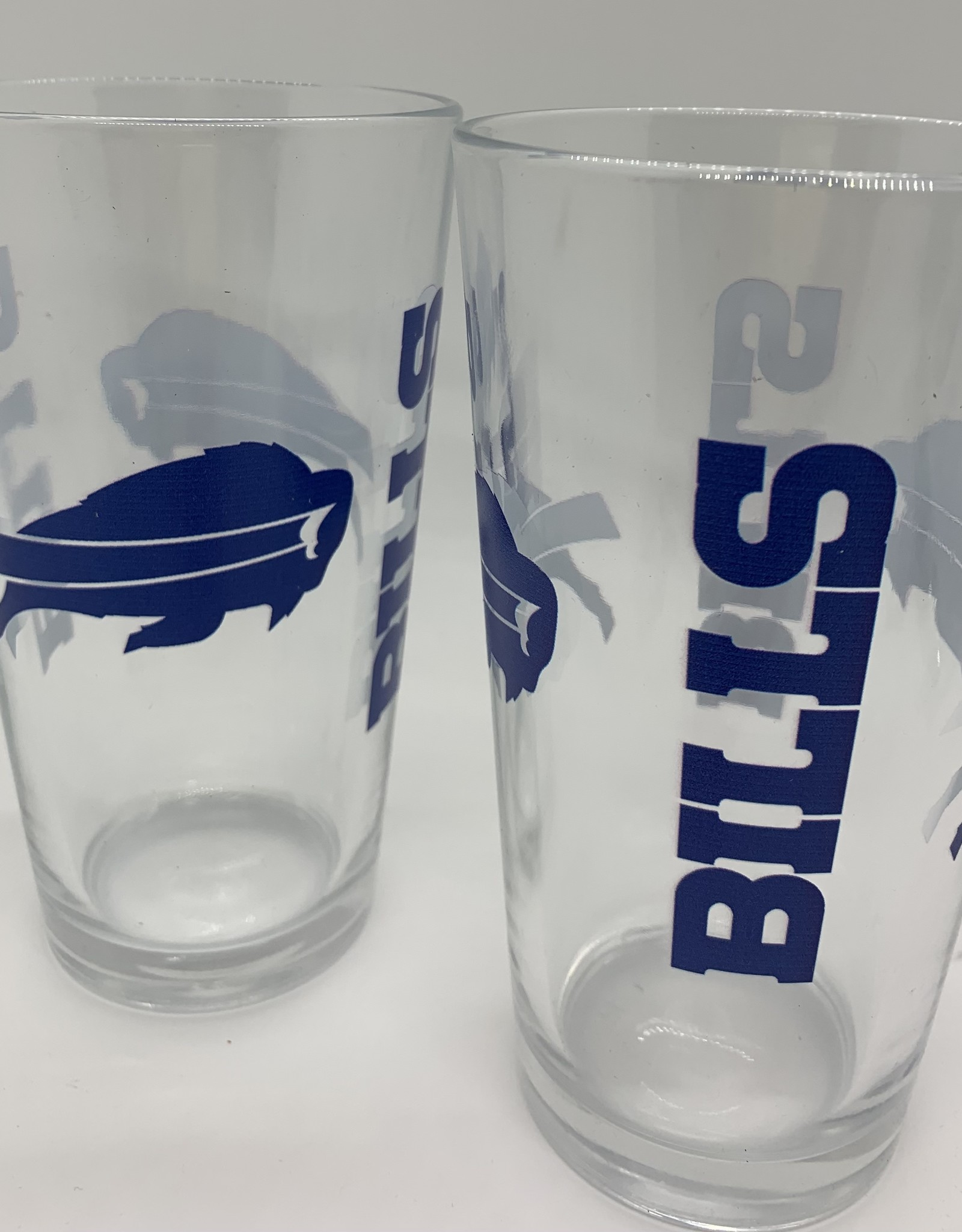 GOOD TYMES ENTERPRISES BUFFALO BILLS GLASS PINT SET