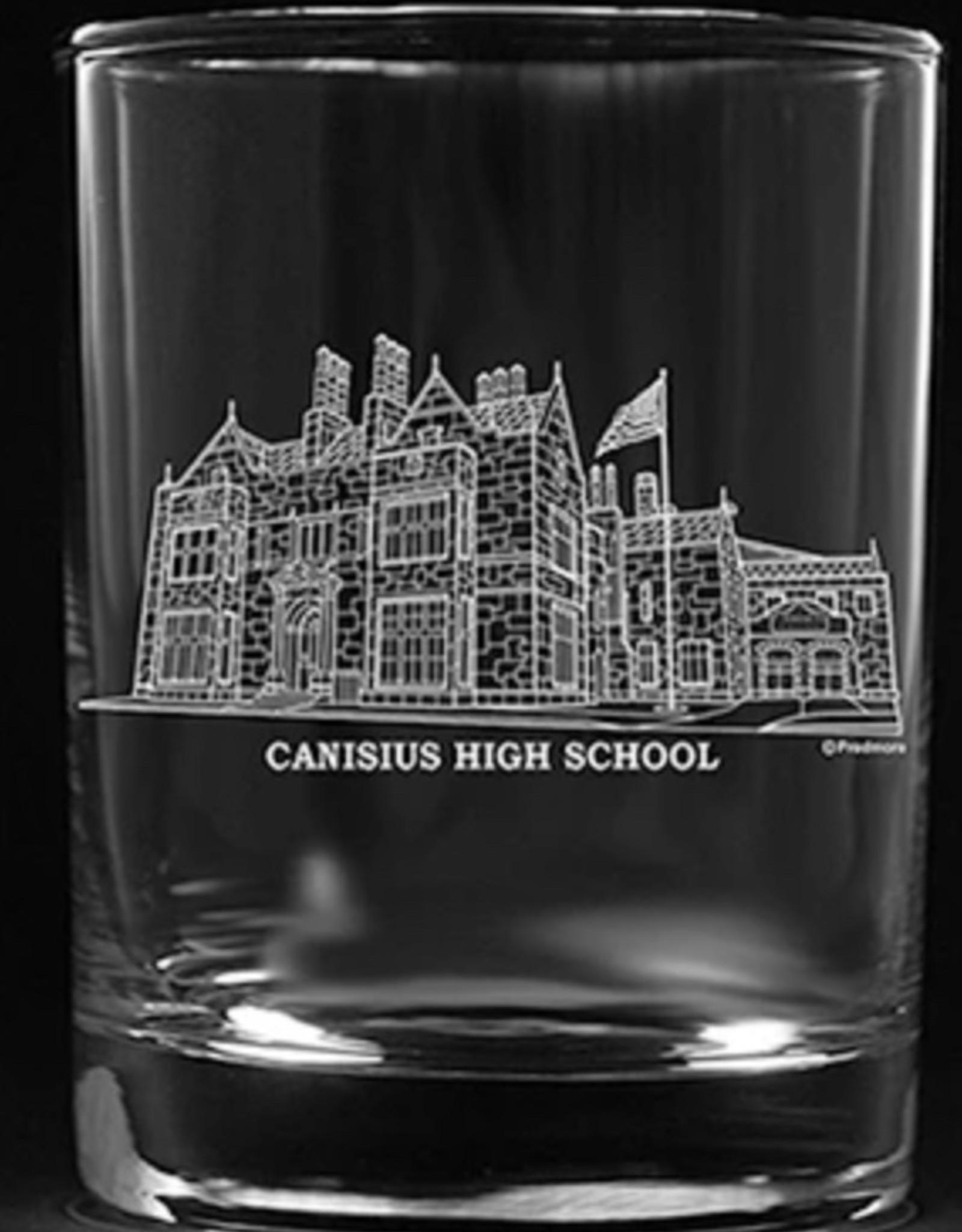 CANISIUS HIGH SCHOOL ROCK GLASS