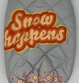 MITTEN ICE SCRAPER-SNOW HAPPENS