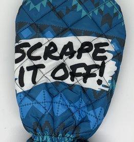 MITTEN ICE SCRAPER-SCRAPE IT OFF!
