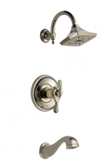 Brizo BRIZO CHARLOTTE - POLISHED NICKEL TEMPASSURE THERMOSTATIC TUB/SHOWER TRIM