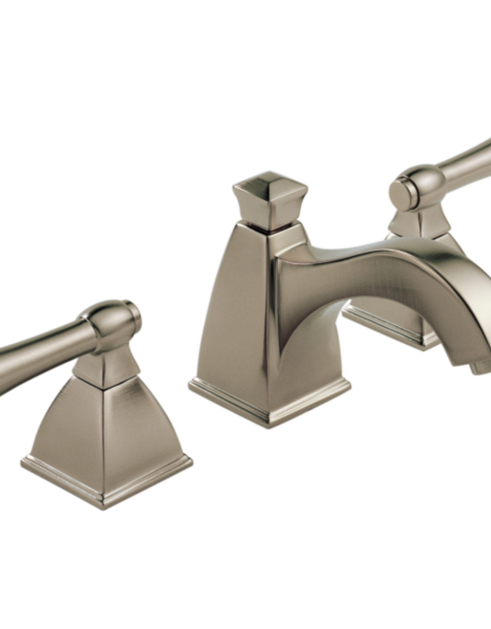 Brizo BRIZO VESI - BRUSHED NICKEL LAVATORY FAUCET WITH CURVE SPOUT