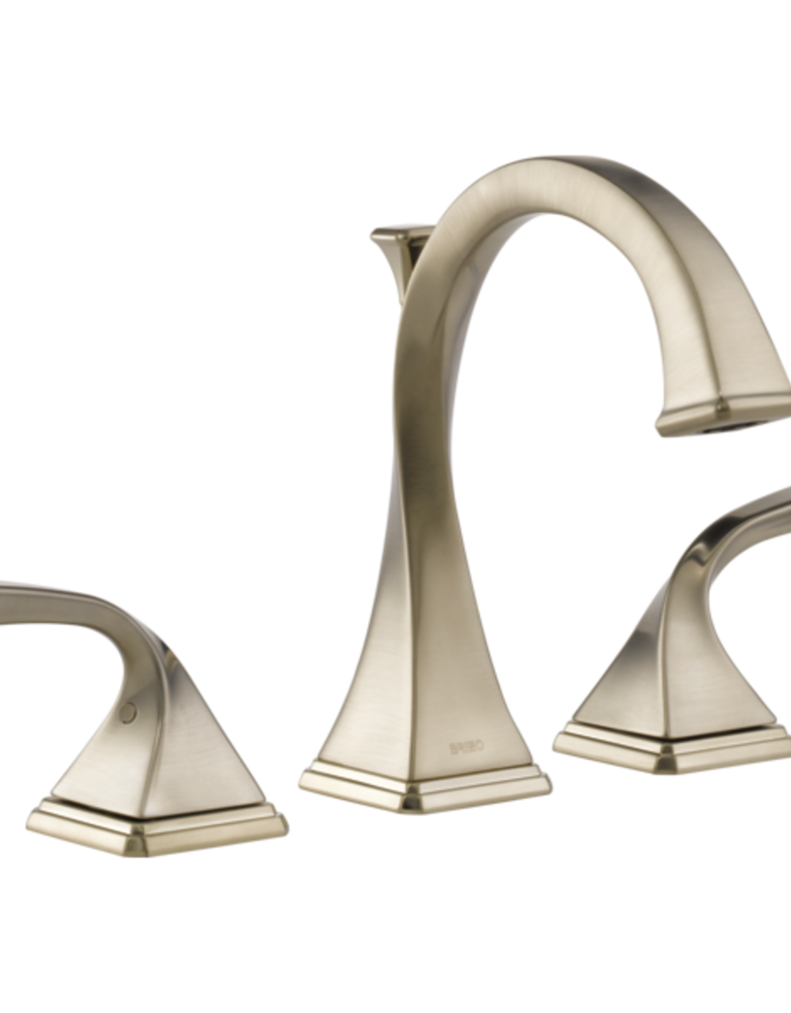 Brizo BRIZO VIRAGE - BRUSHED NICKEL WIDESPREAD VESSEL LAVATORY FAUCET