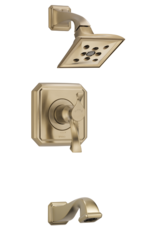 Brizo BRIZO VIRAGE - LUXE GOLD TEMPASSURE THERMOSTATIC TUB/SHOWER TRIM