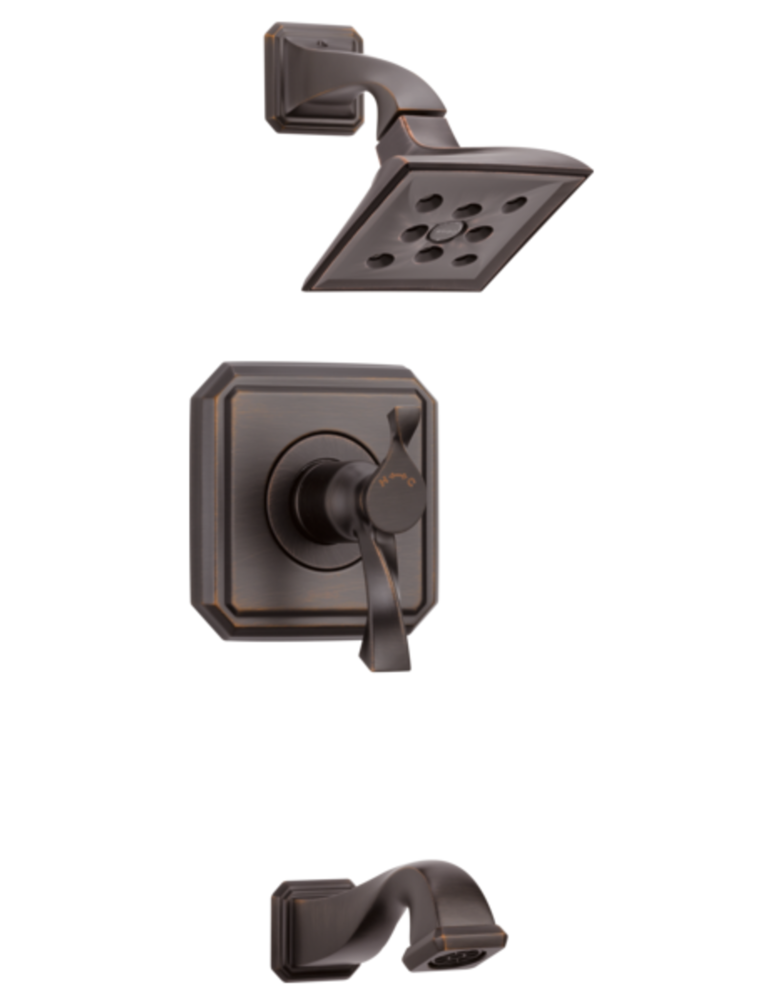 Brizo BRIZO VIRAGE - VENETIAN BRONZE TEMPASSURE THERMOSTATIC TUB/SHOWER TRIM