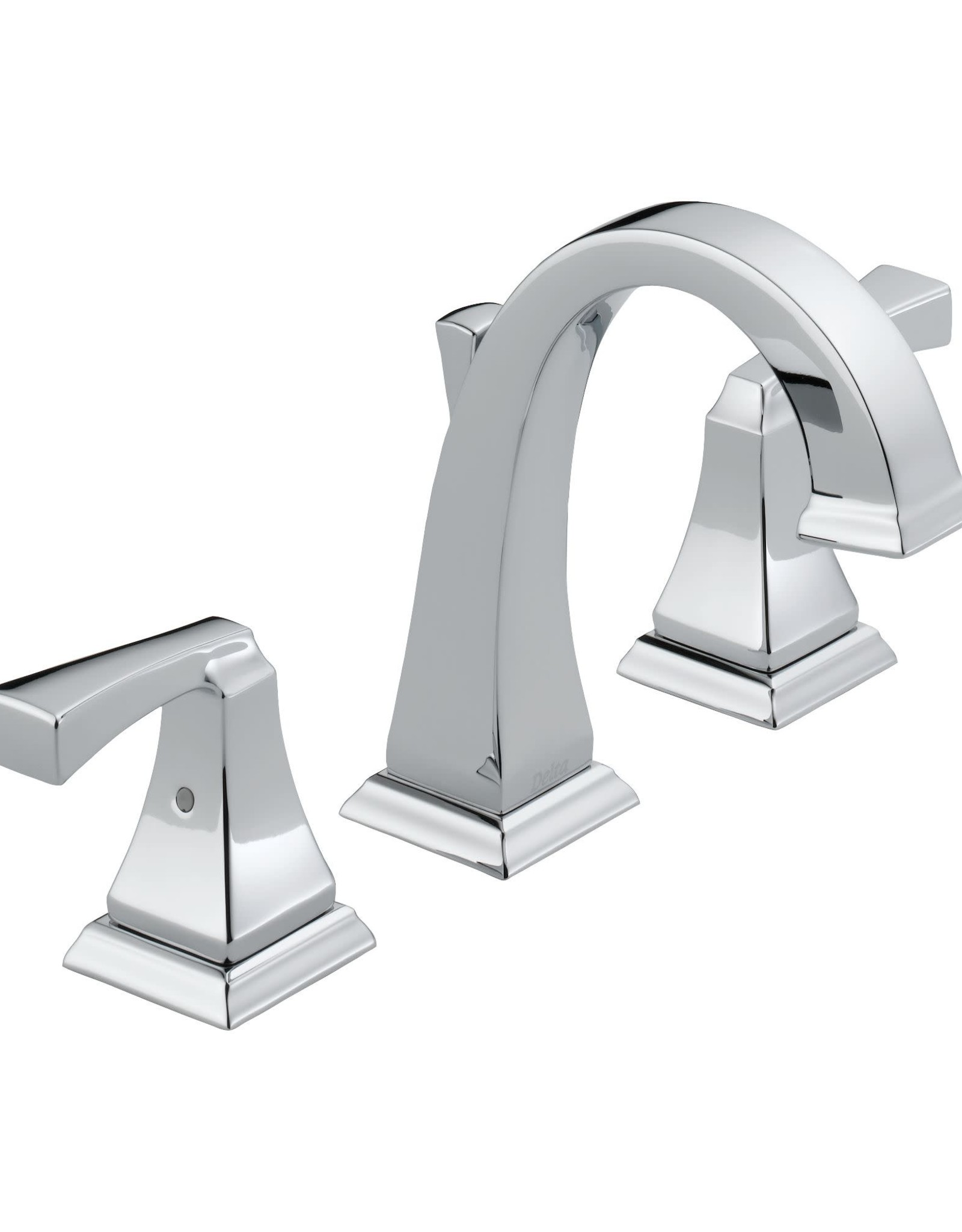 Delta DELTA DRYDEN - CHROME TWO HANDLE WIDESPREAD LAVATORY FAUCET