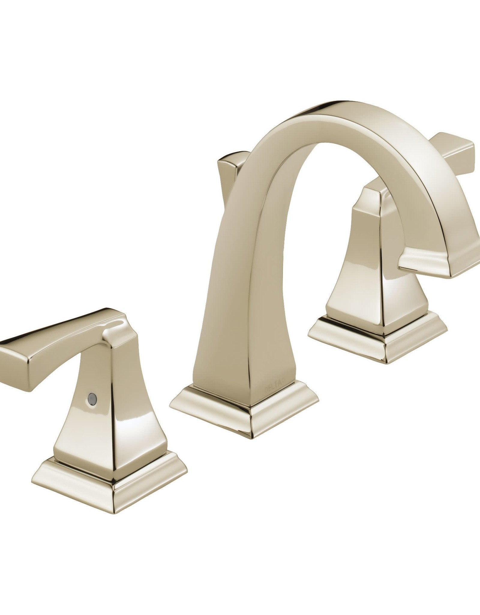 Delta DELTA DRYDEN - POLISHED NICKEL TWO HANDLE WIDESPREAD LAVATORY FAUCET
