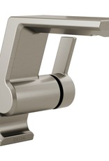 Delta DELTA PIVOTAL - BRILLIANCE STAINLESS SINGLE HANDLE LAVATORY FAUCET
