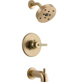 Delta DELTA TRINSIC - CHAMPAGNE BRONZE MONITOR 14 SERIES TUB & SHOWER TRIM