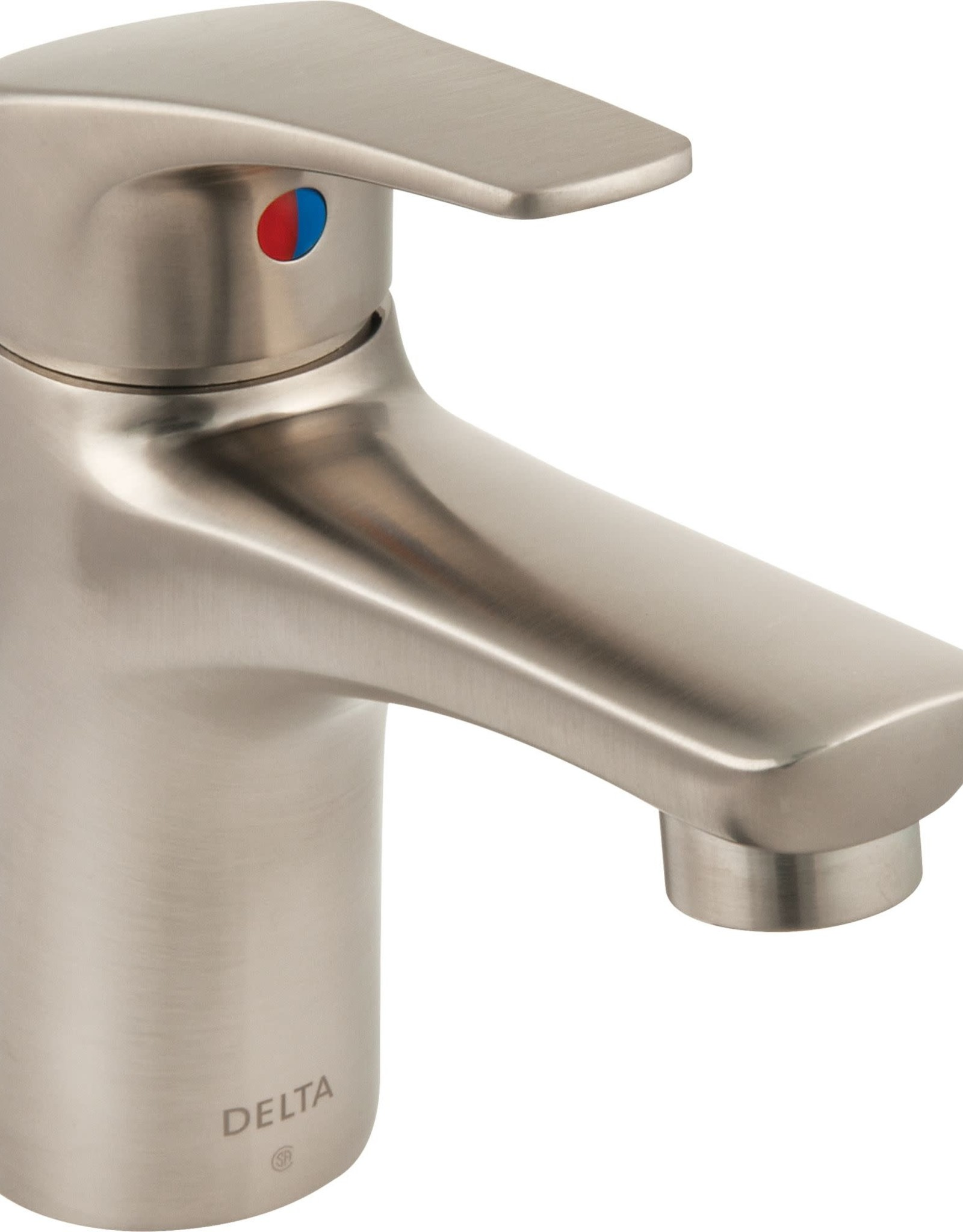 Delta DELTA WYNNE - BRILLIANCE STAINLESS SINGLE HANDLE LAVATORY FAUCET