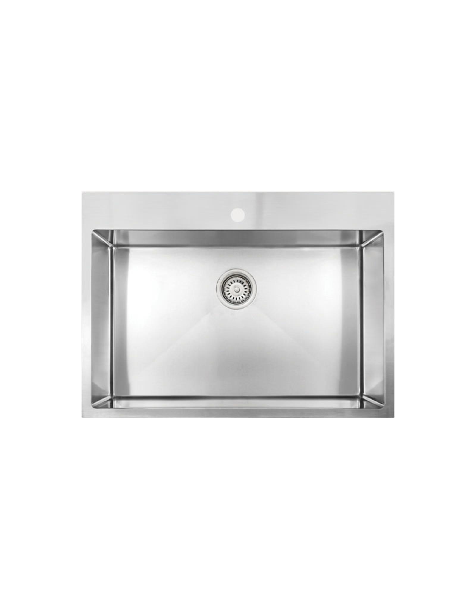 """Vogt Vogt Enns 18R Drop-In Kitchen Sink 30"""" x 20"""" x 9"""""""