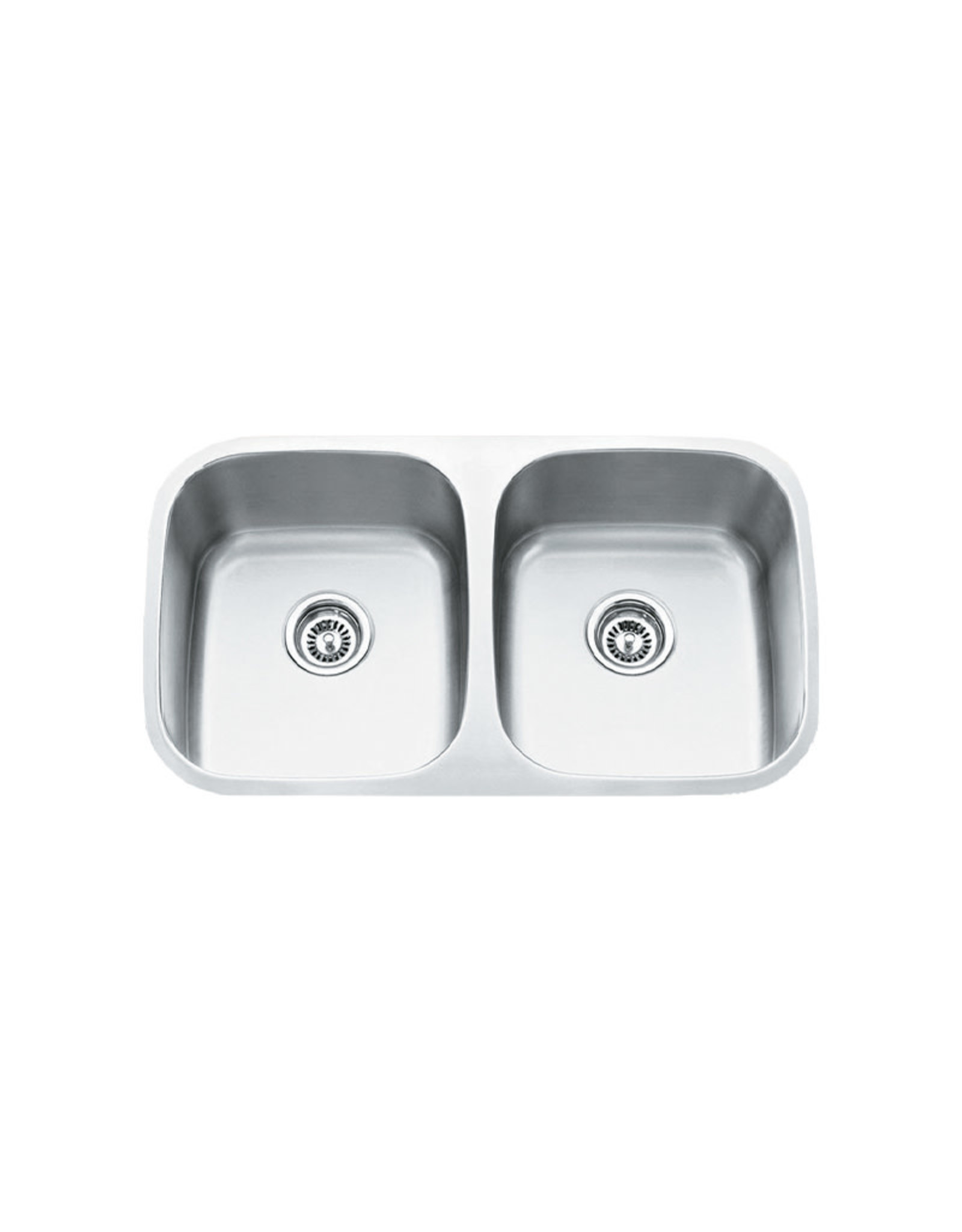 "Vogt Vogt Modena Undermount Kitchen Sink Double Bowl (50/50) 32 ¼"" x 18 ½"" x 9"""