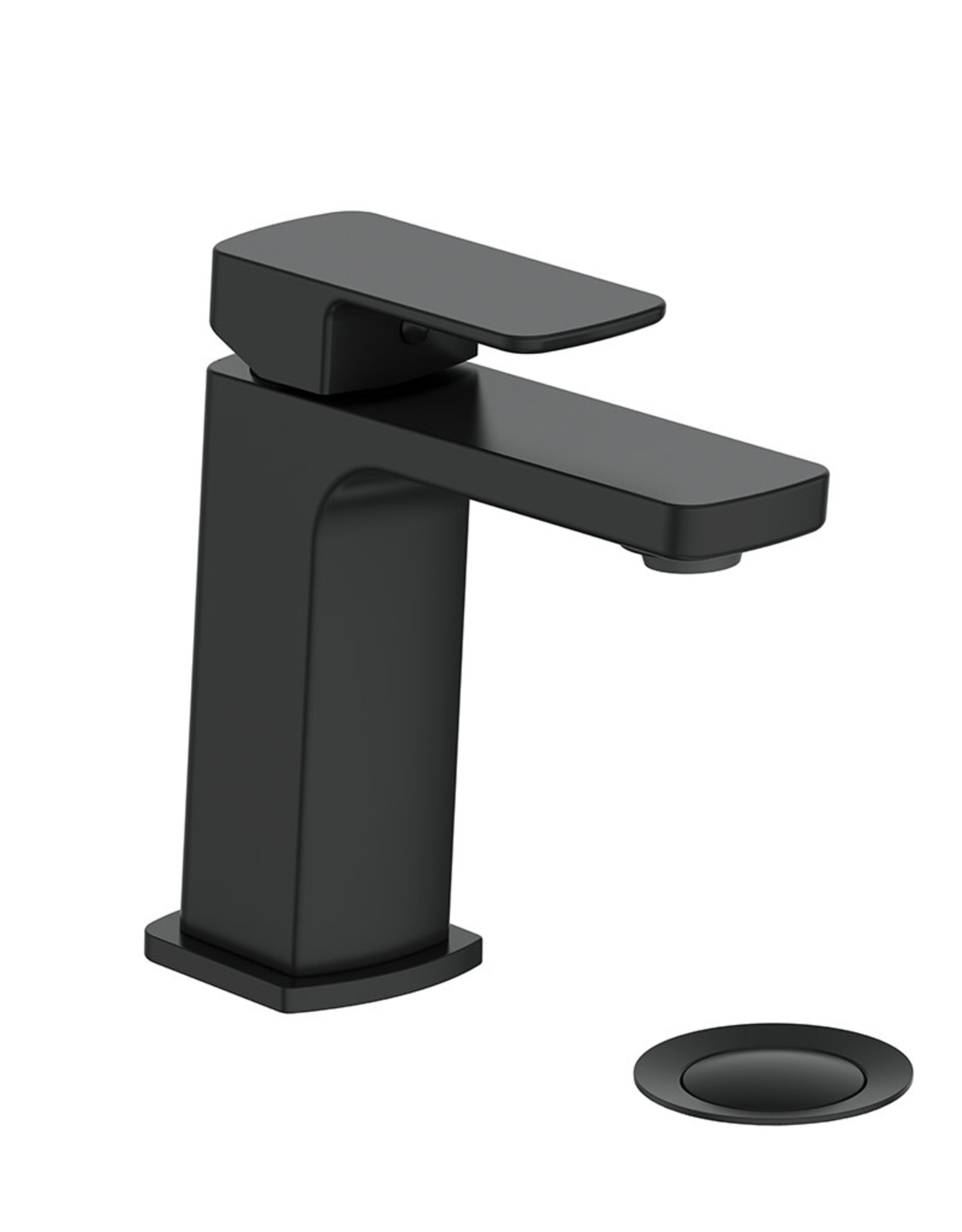 Vogt VOGT - NIVEAU MATTE BLACK SINGLE LAVATORY FAUCET w/ POP-UP DRAIN