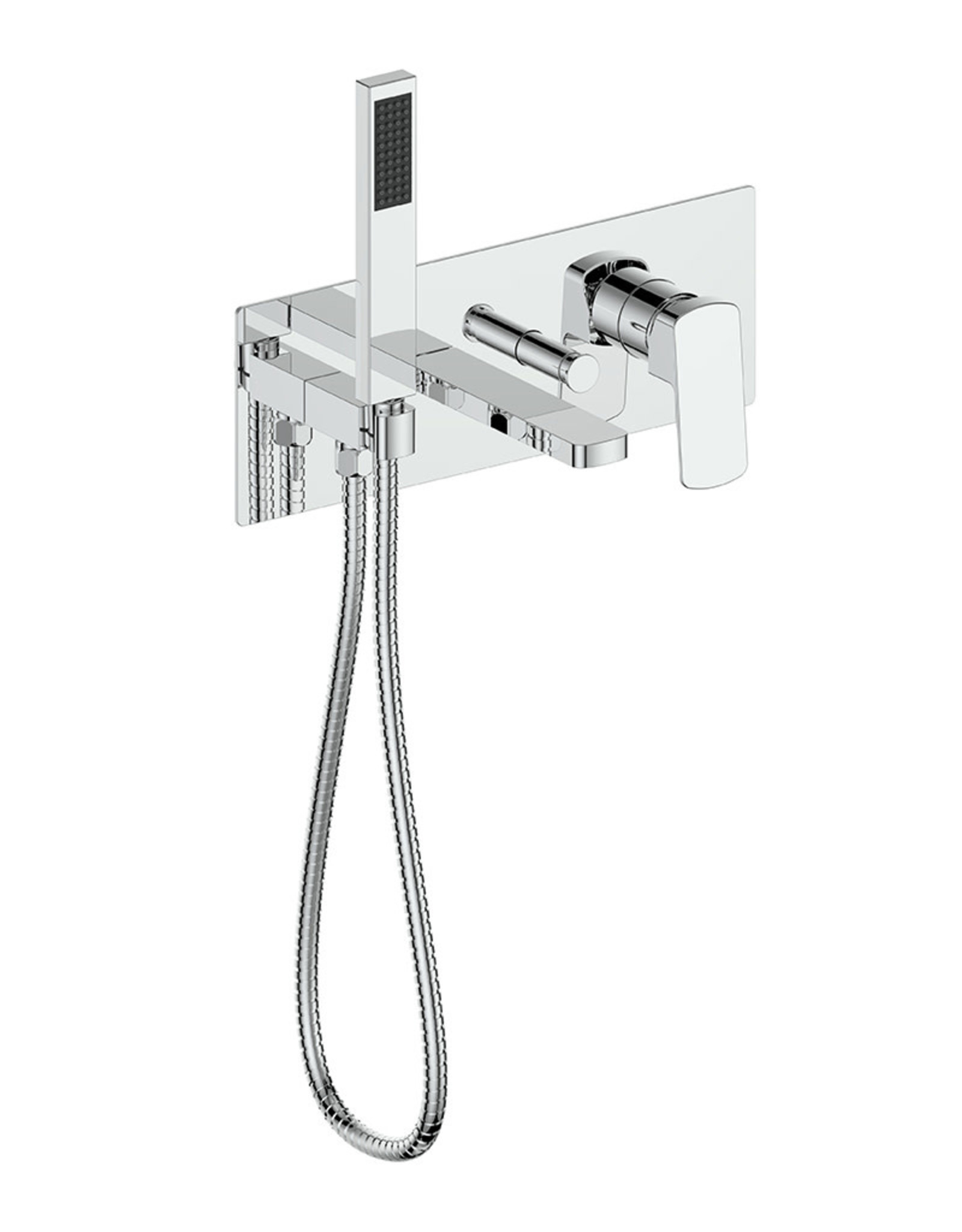 Vogt VOGT - NIVEAU CHROME WALLMOUNT TUB FILLER