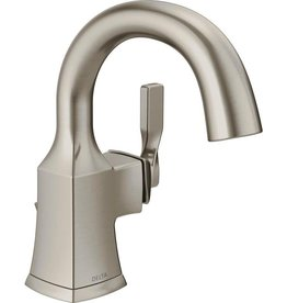 Delta DELTA - SAWYER BRUSHED NICKEL SINGLE HANDLE LAVATORY FAUCET
