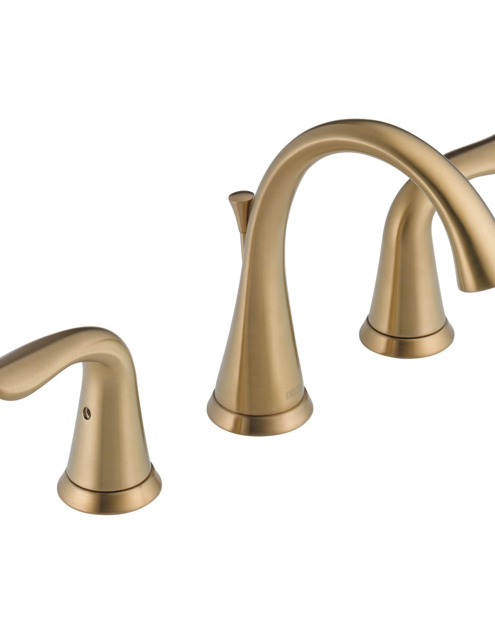 "Delta Delta Lahara 8"" Lav Faucet Champagne Bronze"