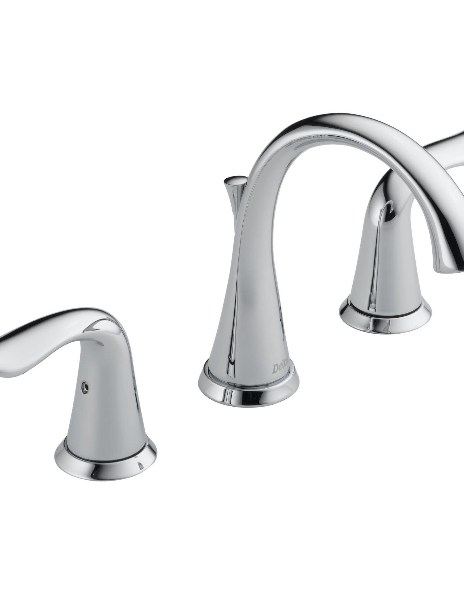 "Delta Delta Lahara 8"" Lav Faucet Chrome"