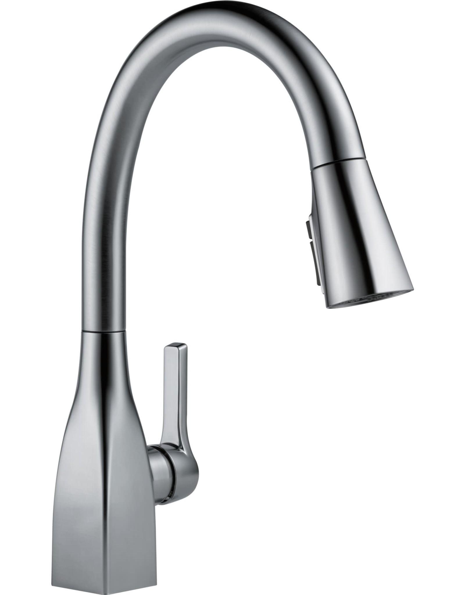 Delta Delta Mateo Arctic Stainless Kitchen Faucet