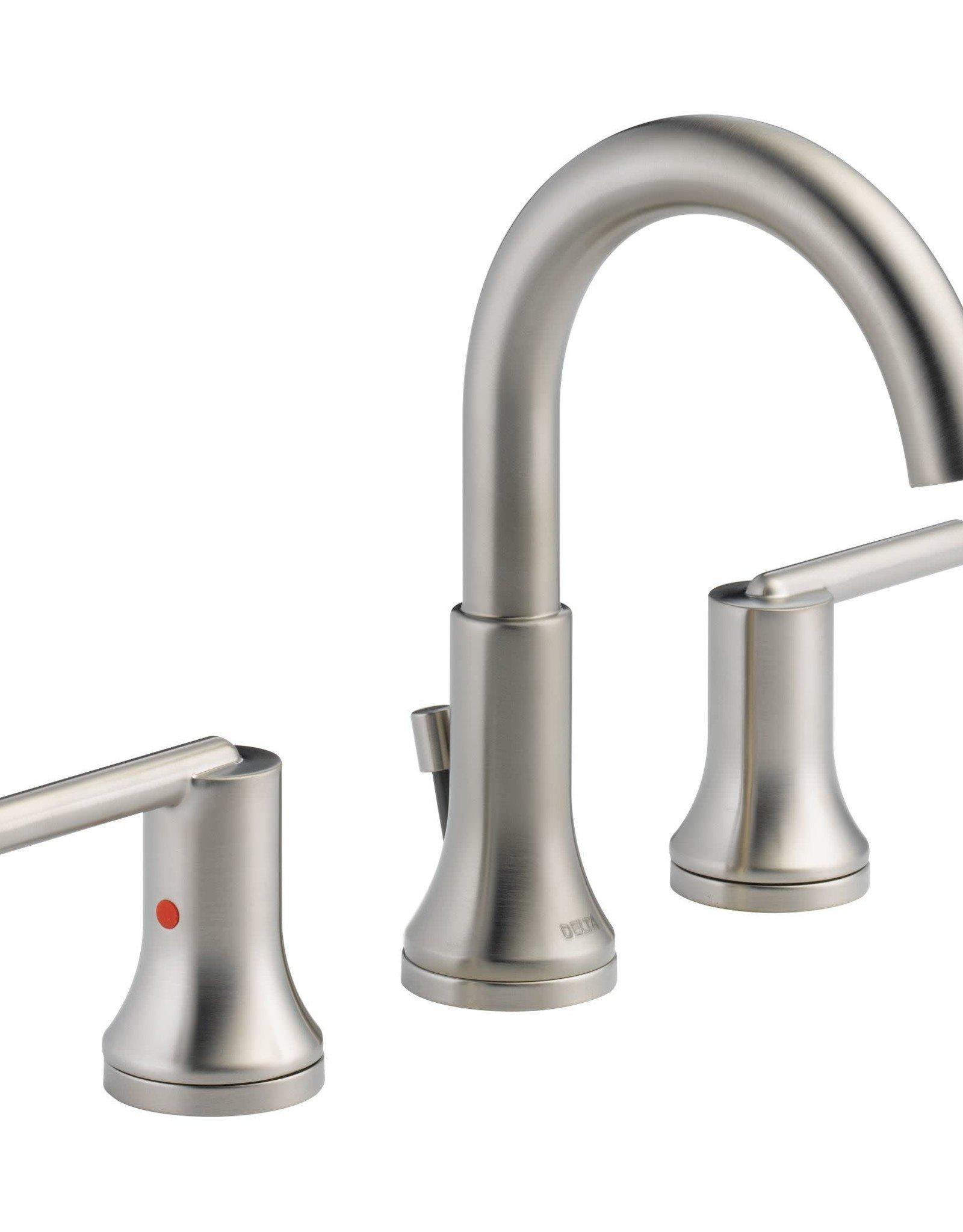 "Delta Delta Trinsic 8"" Lav Faucet Brilliance Stainless"