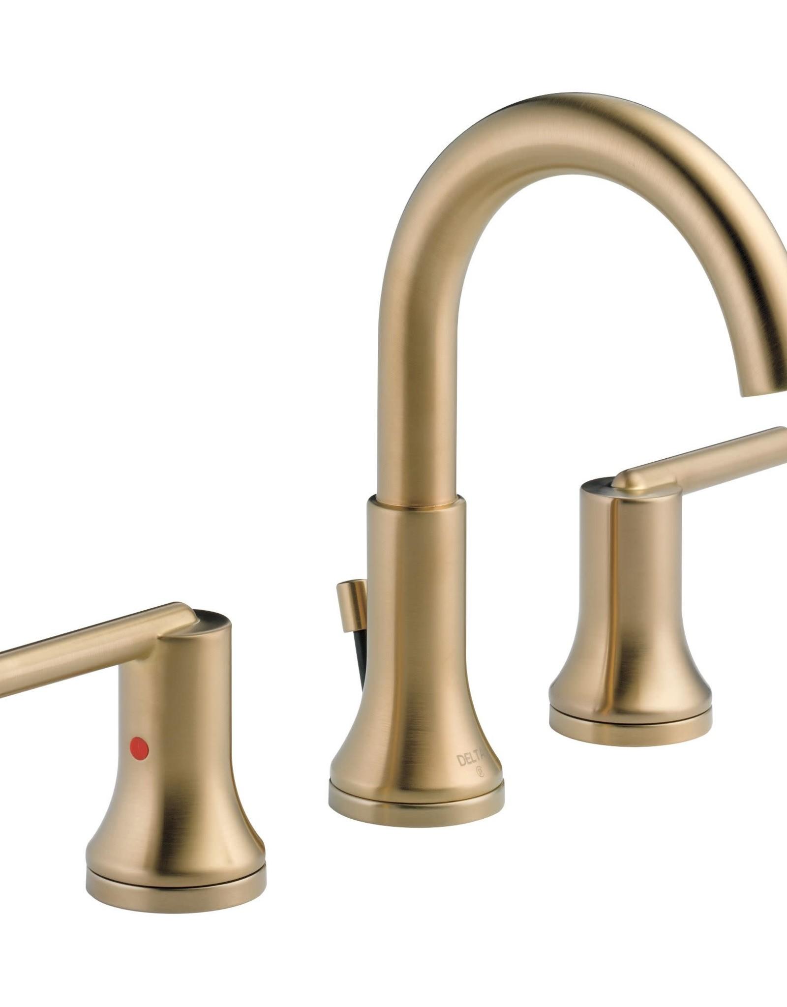 "Delta Delta Trinsic 8"" Lav Faucet Champagne Bronze"