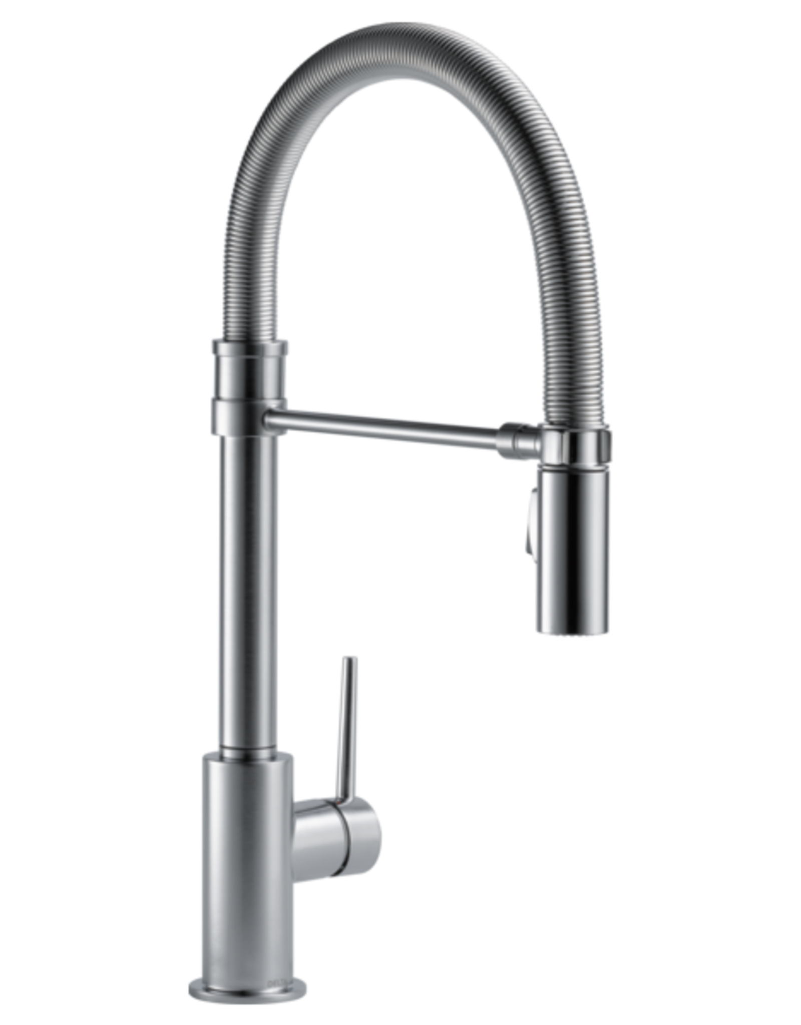 Delta Delta Trinsic Pro Collection Kitchen Faucet Arctic Stainless