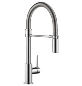 Delta Delta Trinsic Pro Collection Kitchen Faucet Chrome