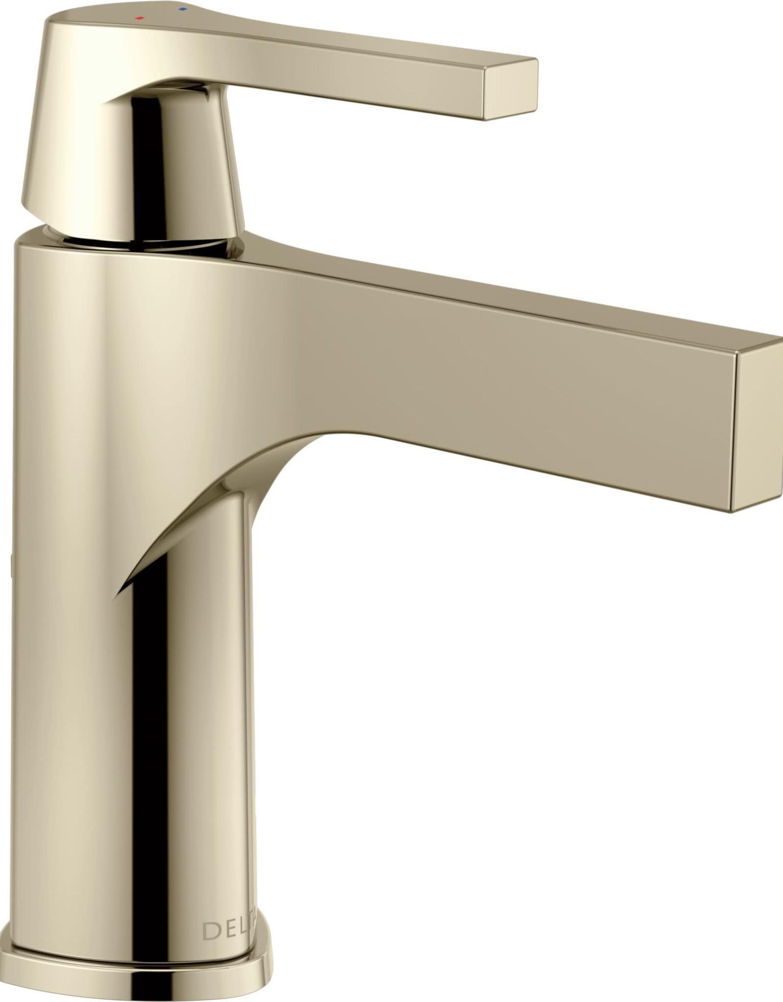 Delta Delta Zura Single Lav Faucet Polished Nickel