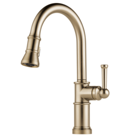 Brizo Brizo Artesso Pull-Down Kitchen Faucet Luxe Gold