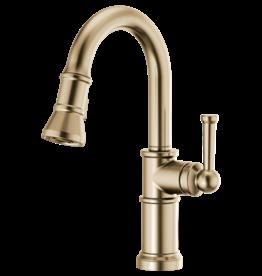 Brizo Brizo Artesso Pull-Down Prep Faucet Luxe Gold