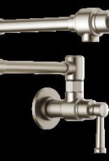 Brizo Brizo Artesso Wallmount Pot Filler Faucet Stainless Steel